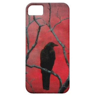 Blackbird In The Red iPhone 5 Covers