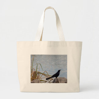 Blackbird Sing Large Tote Bag