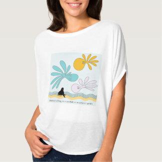 Blackbird, sitting on a cornflake T-Shirt