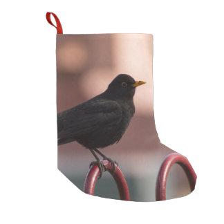 Blackbird Small Christmas Stocking