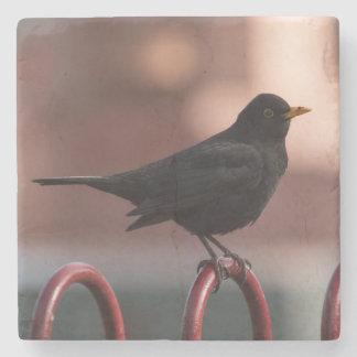 Blackbird Stone Coaster