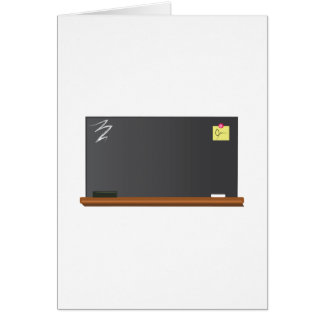 Blackboard Card