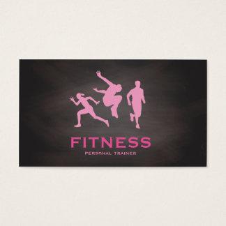 Blackboard Pink Runner Personal Trainer Fitness