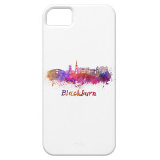 Blackburn skyline in watercolor case for the iPhone 5