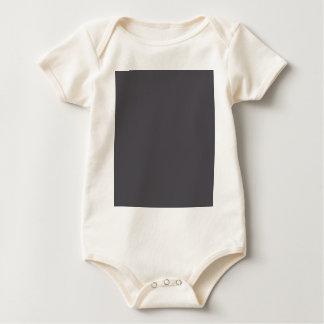 Blackened Pearl Gray Color Baby Bodysuit