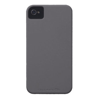 Blackened Pearl Gray Color Case-Mate iPhone 4 Case
