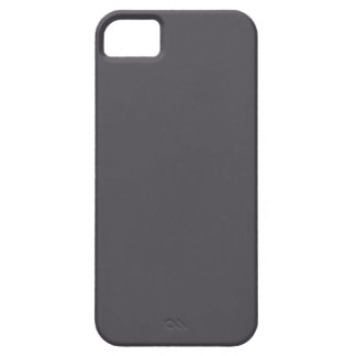 Blackened Pearl Gray Color iPhone 5 Case