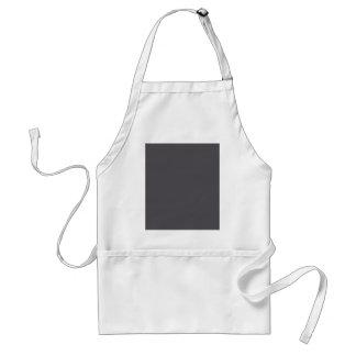 Blackened Pearl Gray Color Standard Apron