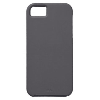Blackened Pearl Gray Color Tough iPhone 5 Case
