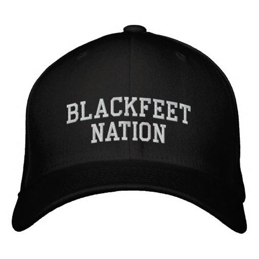 Blackfeet Nation Embroidered Baseball Caps