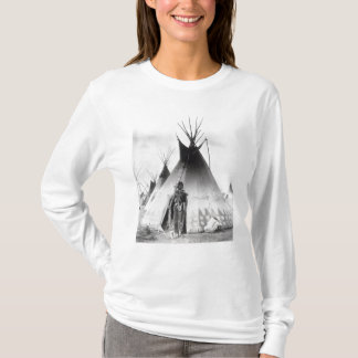 Blackfoot Brave, near Calgary, Alberta, 1889 T-Shirt