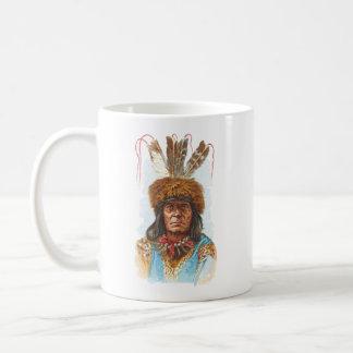 Blackfoot Sioux Chief: Big Razor Coffee Mug