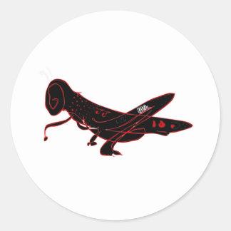 blackGrassh - Global Warming Round Stickers