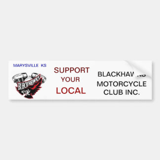 Blackhawks Bumper Sticker