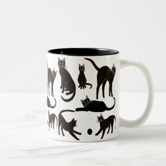 Blackie the Black Cat Mug