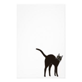 Blackie the Black Cat Stationery