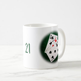 Blackjack 21 point - Eight, Eight, Five Coffee Mug