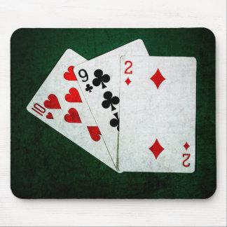 Blackjack 21 point - Ten, Nine, Two Mouse Pad