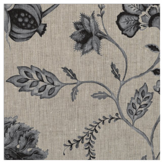 BlackJack Floral Fabric