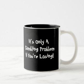 Blackjack Gambling Mug