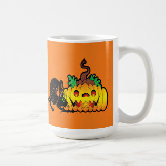 Blackjack Halloween Mug