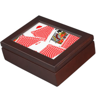 Blackjack Keepsake Box