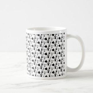 Blackjack Spades Black Basic White Mug