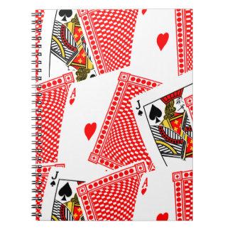 Blackjack Spiral Notebook