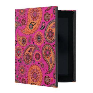 Blacklight Paisley iPad Case
