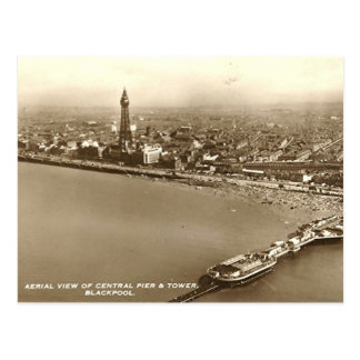 Blackpool from the Air Postcard