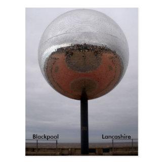 Blackpool Mirrorball Postcard