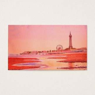 Blackpool Tower. Business Card