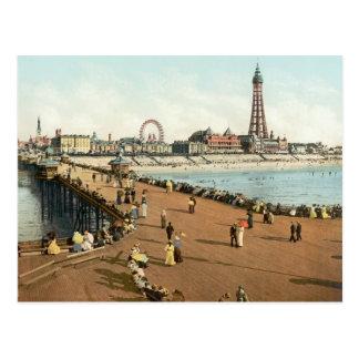 Blackpool Tower North Pier, c.1895 Postcard