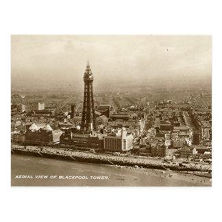 Blackpool Tower - Old Postcard