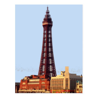 Blackpool Tower Postcard