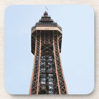 Blackpool Tower souvenir photo Coaster