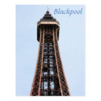 Blackpool Tower souvenir photo Postcard