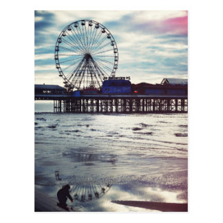 Blackpool United Kingdom Post Card