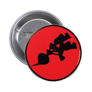 BlackRadish Butons 6 Cm Round Badge