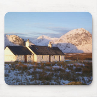 Blackrock Cottage, Glencoe, Highlands, Scotland Mouse Pad