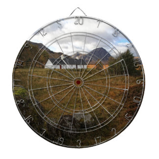 Blackrock Cottage, Glencoe, Scotland Dartboard With Darts