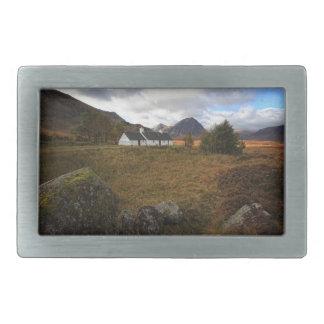 Blackrock Cottage, Glencoe, Scotland Rectangular Belt Buckle