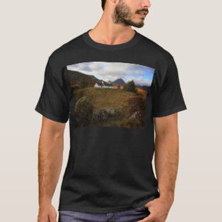 Blackrock Cottage, Glencoe, Scotland T-Shirt