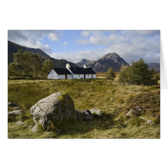 Blackrock Cottage Scotland Card