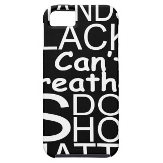blackshirtwhiteonblack iPhone 5 case