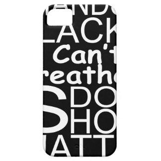 blackshirtwhiteonblack iPhone 5 cover