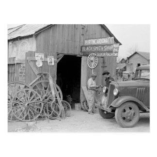 Blacksmith Shop, 1939 Postcard