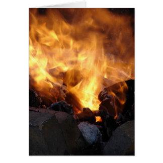 Blacksmith's Fire Card