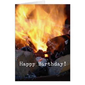 Blacksmith's Forge, Happy Birthday Card