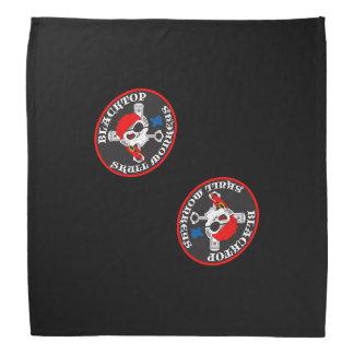 Blacktop Skull Monkey Large Logo on Bandana